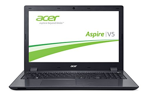 Acer Aspire V 15 (V5-591G-75GP) 39,62 cm (15,6 Zoll Full HD) Notebook (Intel Core i7-6700HQ (Skylake), 8GB DDR4-RAM, 256GB SSD, Win 10 Home) schwarz