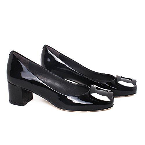 Calpierre Dh104-5059 - Zapatos de vestir de Piel para mujer negro