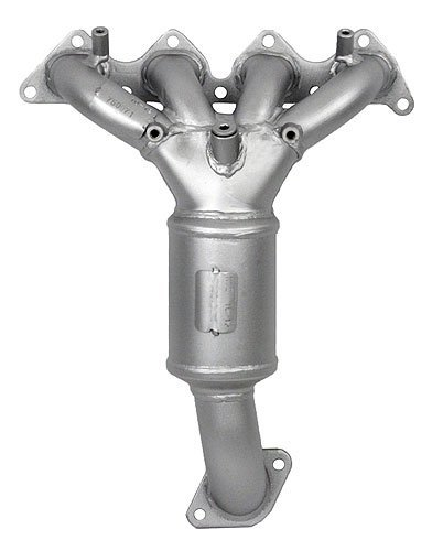 PaceSetter 750071 Direct-Fit Manifold Catalytic Converter with Curved Outlet for Hyundai Elantra GLS/GT