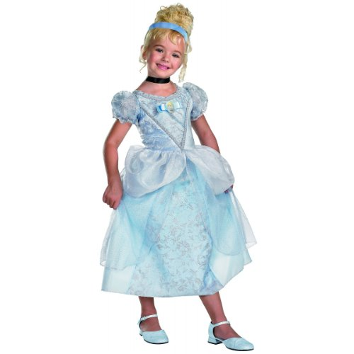 Disguise Deluxe Cinderella Costume Small