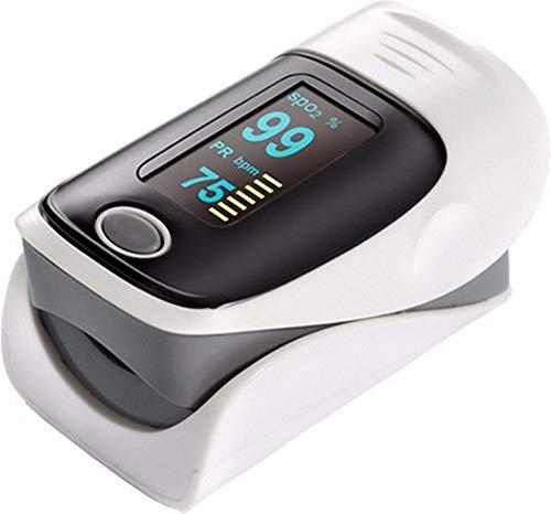 Fedec Fingertip pulse Oximeter – Hartslagmeter – Saturatiemeter – Grijs