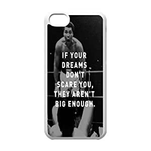 Chinese Muhammad Ali High Quality Cover Case for iPhone 5C,Custom Chinese Muhammad Ali Cell Phone Case