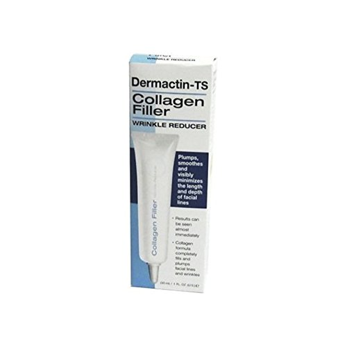 Dermactin-TS Collagen Filler Wrinkle Reducer Facial Treatment Products, 1 fl. oz. by Dermactin-TS
