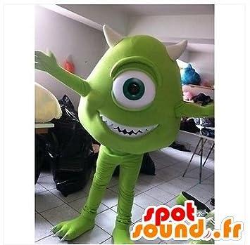 Mascot Mike Wazowski, monstruos famosos personajes y Co.: Amazon ...