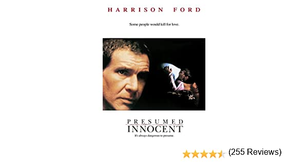 Amazon.com: Presumed Innocent: Harrison Ford, Wb, John Spencer, Joe  Grifasi: Amazon Digital Services LLC  Watch Presumed Innocent