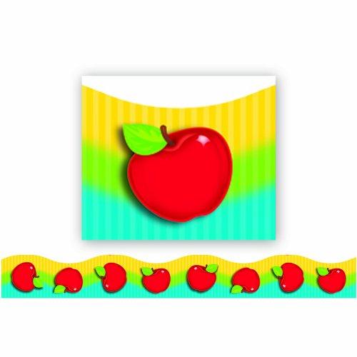 TREND enterprises, Inc. Shiny Red Apples Terrific Trimmers, 39 ft