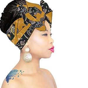 African Head Wraps Headbands for women, Royal head wraps, Headband for girls Boho Hairband for Locs