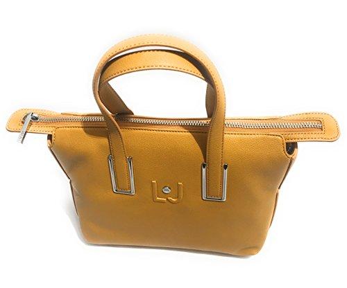 liu jo , Sac pour femme à porter à l'épaule jaune NUGGET GOLD SMALL