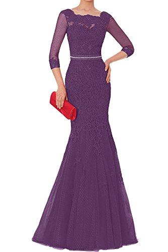 Rot Etuikleider Charmant Traube Langarm Abendkleider Hell Formalkleider Festlichkleider Damen Formalkleider Brautmutterkleider 7qgTOwq