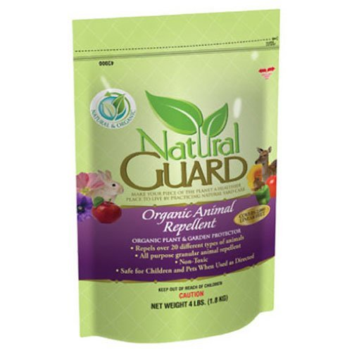 Voluntary Purchasing Group 42000 Natural Guard Organic Animal Repellent, 4-Pound
