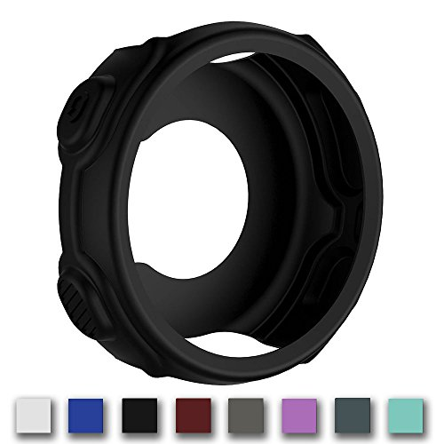 Cyeeson Soft Silicone Protector Case for Garmin Forerunner 220/230/235/630/620/735 x T GPS Running Watch Case Cover