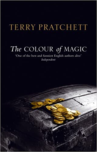 the colour of magic discworld novel 1 discworld novels amazoncouk terry pratchett 9780552152921 books - The Color Of Magic Book
