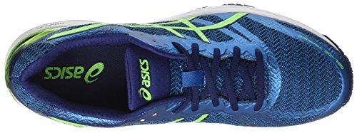 Asics Gel-DS Trainer 22, Scarpe da Ginnastica Uomo Blu (Indigo Blue/Green Gecko/Thunder Blue)