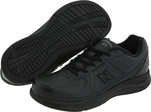 New Balance Women's WW577 Walking Shoe, Black, 10.5 2A US