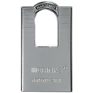 2. Brinks 172-44831 Home Security 44 mm Solid Steel Shrouded Padlock