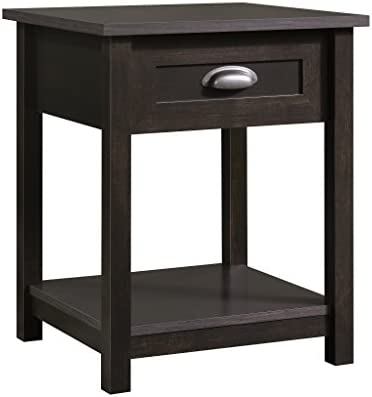 picture of Sauder County Line Night Stand, Estate Black finish