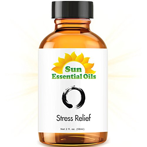 Stress Relief Blend - 2 fl oz Best Essential Oil - 2 ounces
