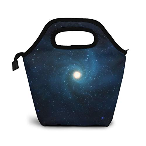 Daizideaidai Sloth Wearing Sunglasses in Space Lunch Bag Tote Bag Lunch Organizer Lunch Holder Lunch Container for Adults Kids Nurse Teacher Work Outdoor Travel ()