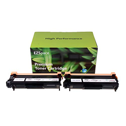 EZSpace 2 Pack Compatible Brother TN 750 TN-750 Toner Cartridge for Brother MFC-8710DW HL-5470DW MFC-8910DW HL-5450DN MFC-8950DW MFC-8810DW HL-6180DW, High Yield 8000 Page
