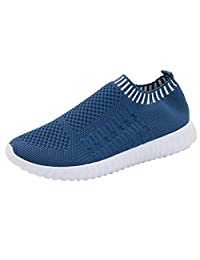 yoyoiop Fashion Women Outdoor Mesh Casual Sport Shoes Runing Breathable Shoes Sneakers
