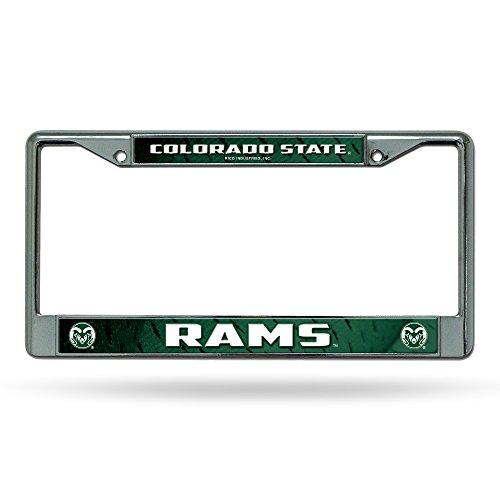 - Rico Industries NCAA Colorado State Rams Chrome Plate Frame