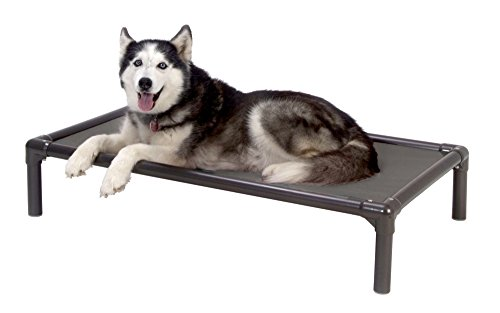 Kuranda Walnut PVC Chewproof Dog Bed - XL (44x27) - Cordura - Smoke by Kuranda (Image #4)