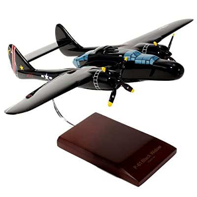 Mastercraft Collection Northrop P-61B Black Widow American Spider Plane Aircraft Model Scale:1/48