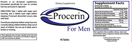 Procerin Combo Pack 3 Month Supply