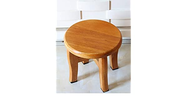Pleasant Amazon Com Anju100 Solid Wood Stool Oak Stool Small Stool Creativecarmelina Interior Chair Design Creativecarmelinacom