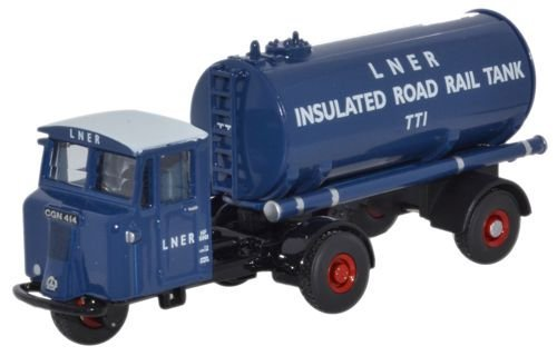 Oxford Diecast Scammell Mechanical Horse Tanker LNER 76MH018 by Oxford Diecast
