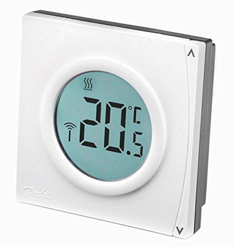 Danfoss 087/N7849/termostato de Digital no programable ret2000b color blanco