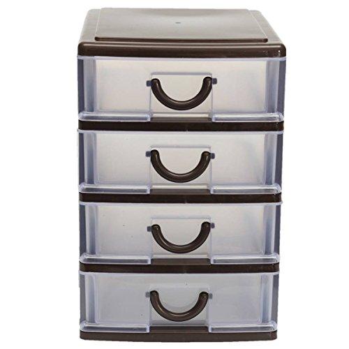 KINGSO Plastic Storage Organizer Desktop