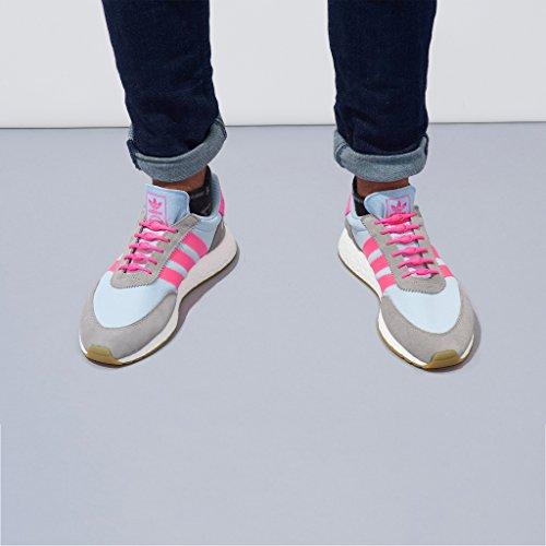 Funciona Rosa Hickies tie Con Cordones Unidades Zapatillas Elásticos Todas Las 14 No Originals' gUf1wF