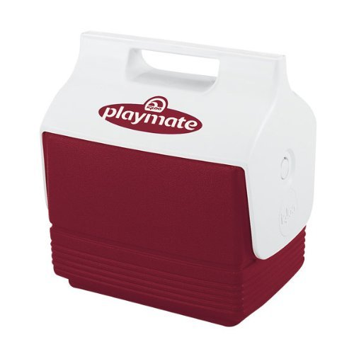 - Igloo 6-Can Capacity Mini Playmate Cooler (Red) Model: 12424