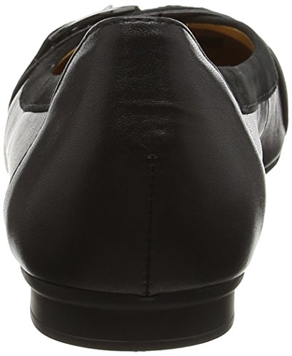 Gabor Shoes Fashion, Ballerines Femme, Noir (Schwarz 27), 38 EU