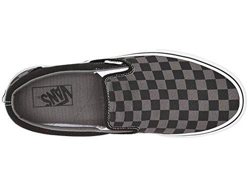 Vans AUTHENTIC Black Sneakers Checkerboard Pewter Unisex Erwachsene S7wSqx1P