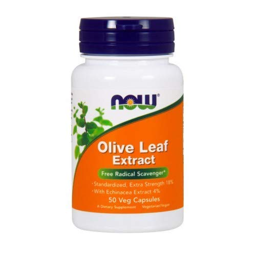 Now Foods Olive Leaf Extract Extra Strength, 50 caps ( Multi-Pack)