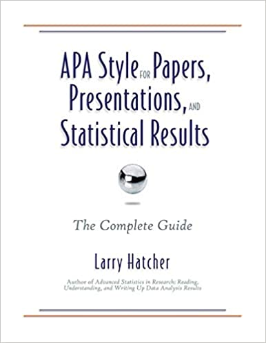 APA Style for Papers and Statistical Results The Complete Guide Presentations
