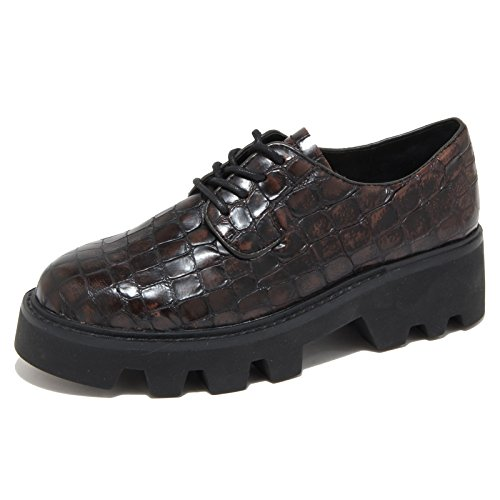 shoes 39 scarpe BROWN SHADOW 3915N woman donna ASH scarpe allacciate qX0Xza