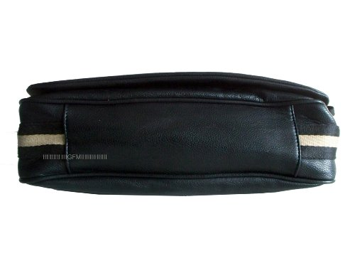 GFM Fashion, Borsa a spalla uomo medium Style 1 - Black (KL). medium