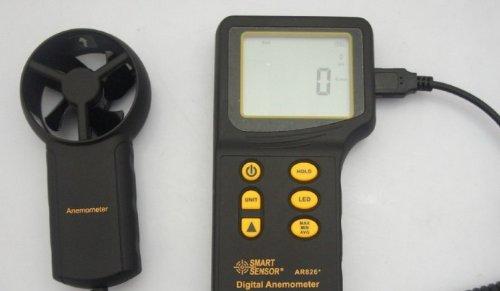 - Gowe® Anemometer Air Flow Meter Wind Speed Gauge Tester