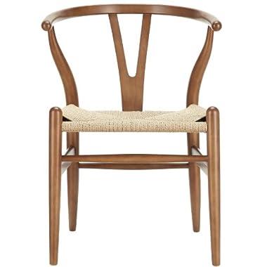 LexMod C24 Wishbone Chair in  Walnut