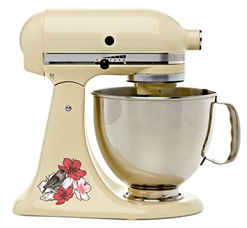 - Finch On Cherry Blossoms Bakery Kitchen Mixer Mixing Machine Decal Art Wrap