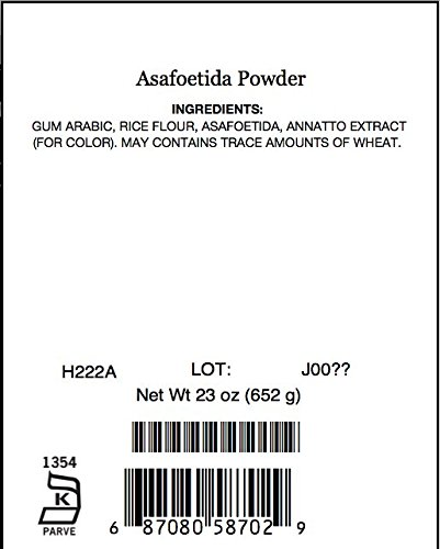 Asafoetida Powder, 23 Oz by Angelina's Gourmet (Image #2)