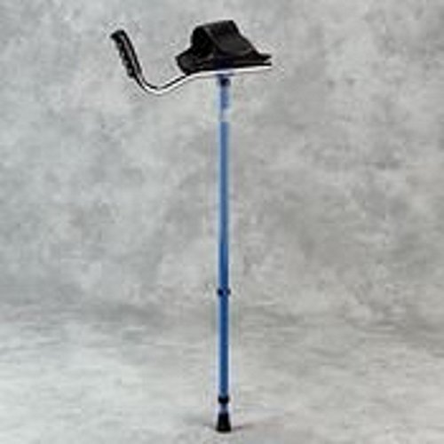 Walk Easy Adult Platform Crutch (Blue )