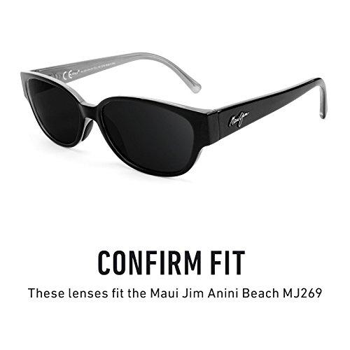 Opciones Lentes Polarizados Beach Elite repuesto Flash de múltiples MJ269 para Bronce Maui Jim — Mirrorshield Anini rzraqwP