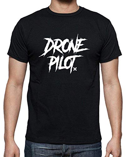 shirt Drone Dgdrone T Nero Pilota Tostadora Uomo pxvAwnCq