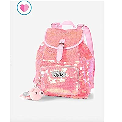 high-quality Justice Flip Sequin Mini Backpack Flying Pig