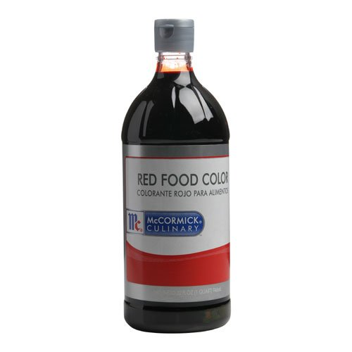 Food Color Red -- 6 Case 1 Quart by McCormick