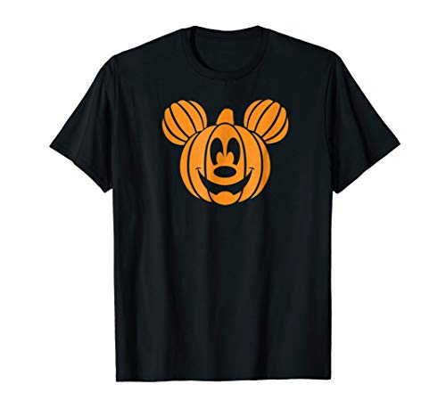 Disney Mickey Mouse Halloween Pumpkin head T-shirt